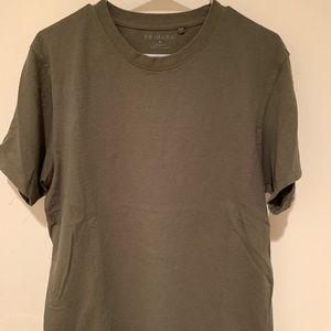 Olive green Primark medium over sized shirt